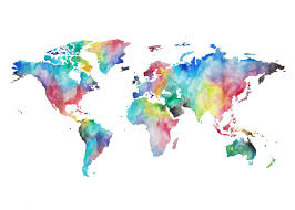 Borderless World Map by 35 Best Tattoos Images On Pinterest World Map Tattoos World