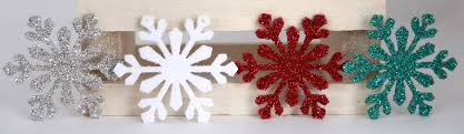 diy glitter snowflake ornaments meyer imports