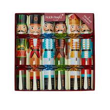 Nutcracker Christmas Ornaments Uk by Reed 6 Nutcracker Christmas Crackers