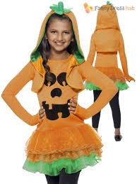 Kids Skeleton Halloween Costume by Age 4 10 Girls Skeleton Pumpkin Tutu Halloween Fancy Dress Costume