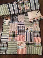 Pottery Barn Madras Curtains Pottery Barn Madras Crib Bedding Ebay