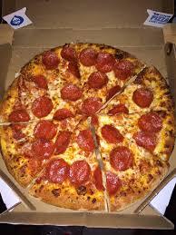 domino pizza hand tossed medium hand tossed pepperoni yelp