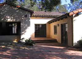 santa barbara style home plans santa barbara california before after spanish hacienda photos