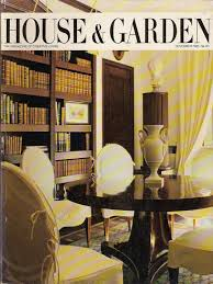 House 1985 by House U0026 Garden November 1985 1980 U0027s Magazine Bill Blass Picasso