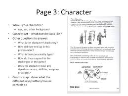 game design template game design document template equipped slide 4 from level up by