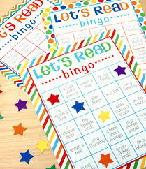 Halloween Bingo Free Printable Cards by Reading Bingo With Free Printable