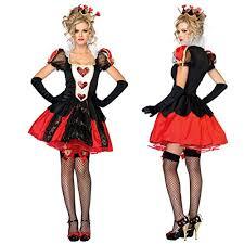 Halloween Costumes Alice Wonderland U0026c Alice U0027s Adventures Wonderland Queen Hearts Halloween