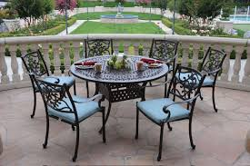 Piece Round Glass Dining Table All Products Dining Kitchen - 7 piece outdoor dining set with round table