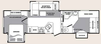 Rv 2 Bedroom Floor Plans Roaming Times Rv News And Overviews