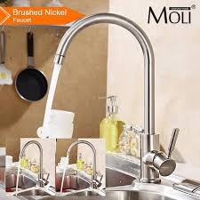 lead free kitchen faucets lead free kitchen faucet nickel brushed stainless steel kitchen
