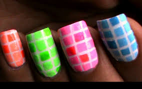 how to do nail polish designs with striping tape a tutorial