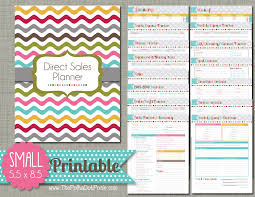 direct sales companies home decor direct sales planner printable set sized small 5 5 x