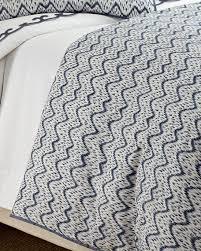 aerin wavy ikat bedding u0026 500tc scallop applique sheets