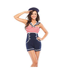 Halloween Costumes Sailor Woman Sailor Pin Costume Sailor Halloween Costumes