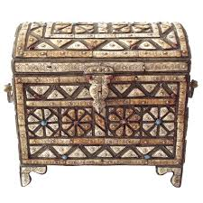 Modern Moroccan Fabulous Modern Moroccan Chest Or Trunk For Sale At 1stdibs