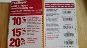 fred meyer friends family pass coupon coming 11 26 frugal