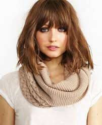 hairstyles bob with bangs medium length korean shoulder length hairstyles shoulder length bob cut with