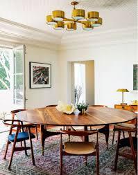 interior mid century modern dining room table within inspiring