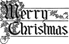 merry typography image beautiful lettering the