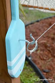 freestanding diy hook and ring game tutorial h20bungalow