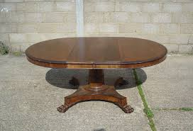 Extendable Oval Dining Table Large Oval Dining Table