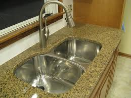 ceramic wide spread kitchen faucet leaking from neck single handle