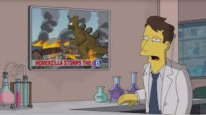 Simpsons Treehouse Of Horror 19 Watch U0027homerzilla U0027 Destroy Springfield In U0027simpsons U0027 U0027clip