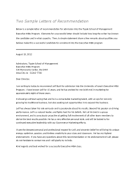 ideas collection letter of recommendation employment pdf with