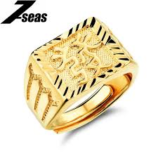 engraved rings gold images 7seas vintage jewelry gold color men 39 s rings exquisite engraved jpg