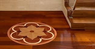 wood floor medallions handcrafted wooden flooring accents