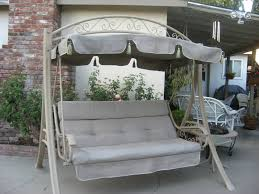 patio glider with canopy uibvr cnxconsortium org outdoor furniture