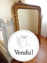 miroir vide poche grand miroir ancien vintage d u0027occasion