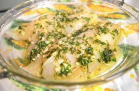 stuff nonsense easy baked lemon parsley barramundi