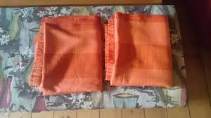 Bright Orange Curtains Vintage Curtains Local Classifieds For Sale In The Uk And