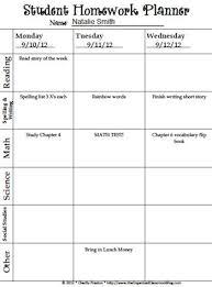 best 25 homework checklist ideas on pinterest ideas