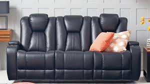three seater recliner sofa stanbury 3 seater future fabric powered recommended by bclinch kit