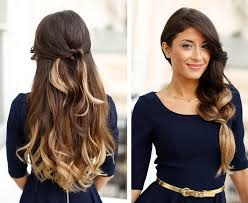 easy quick hairstyles for long thick hair best hair style