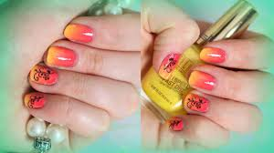 beach summer sunset ombre nails youtube