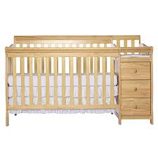 Convertible Crib Changer On Me 5 In 1 Brody Convertible Crib With Changer