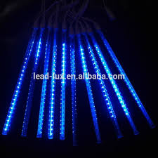 led light icicle raindrop snow falling lights cascading