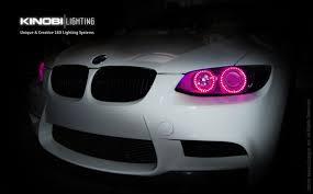 eye bmw headlights bmw e92 3 series changeable multi colors led halo eye rings kit