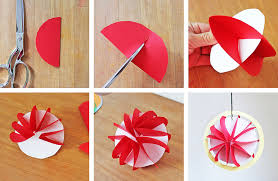 Paper Craft Steps - easy planet craft for 3d paper planets
