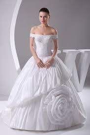 robe de mariã e de crã ateur robe de mariée avec fleurs plissé de bustier taffetas textile