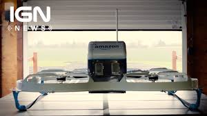 amazon black friday drone amazon makes first successful drone delivery ign