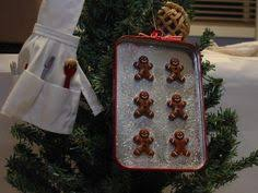 gingerbread cookie sheet 2015 dated ornament