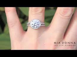 wedding rings in kenya kenya pave engagement ring miadonna