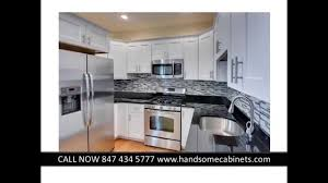 Rta Kitchen Cabinets Chicago by J U0026k Rta Cabinets Chicago White Maple By Handsome Youtube