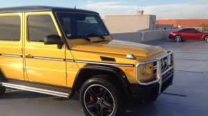 sunset yellow amg g63 2016 mercedes benz youtube