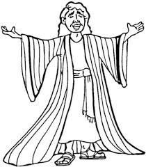 printable coloring pages joseph coat