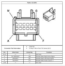 pontiac car radio stereo audio wiring diagram autoradio connector